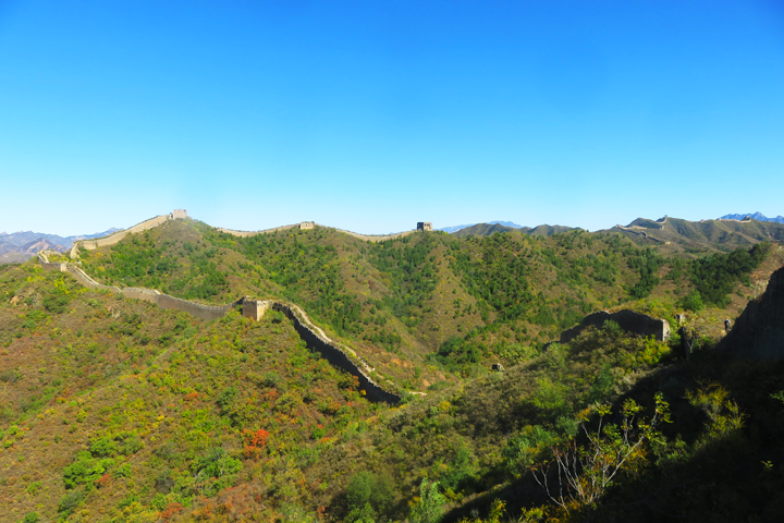 Camping Gubeikou to Jingshanling Great Wall, 2018/10/06 photo #6