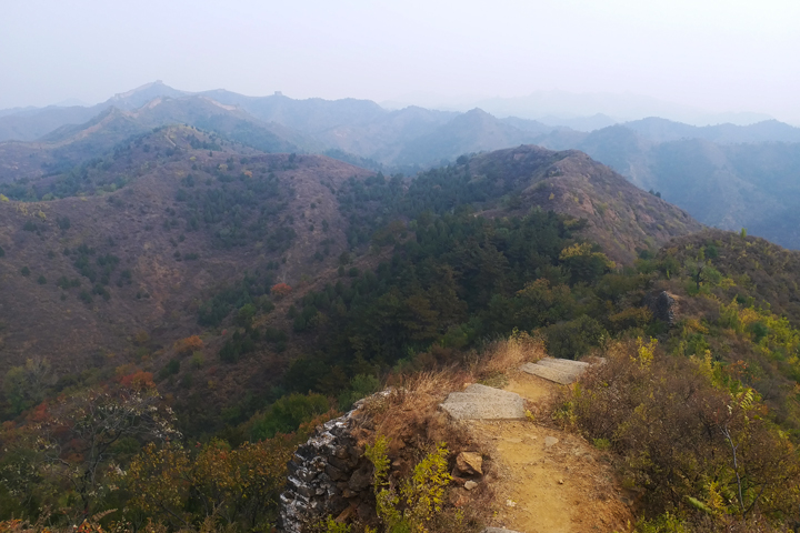 Private hike!  Gubeikou Great Wall, 2018/10/14 photo #5