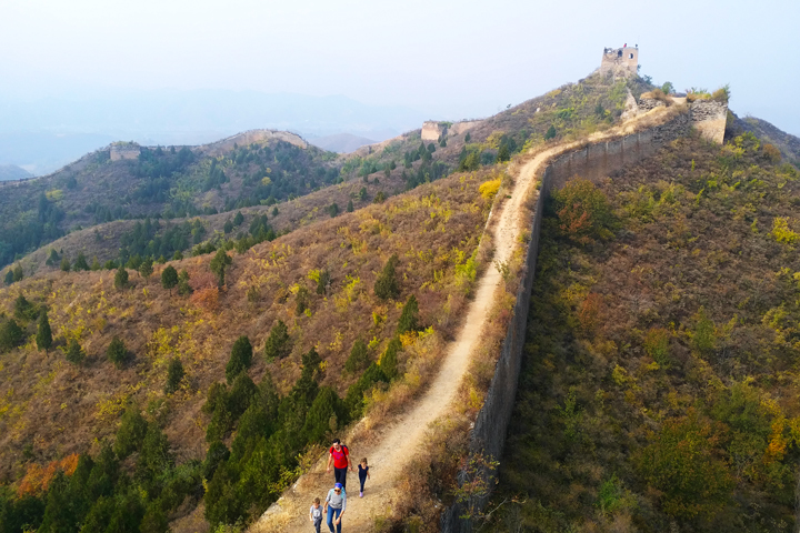 Private hike!  Gubeikou Great Wall, 2018/10/14 photo #9