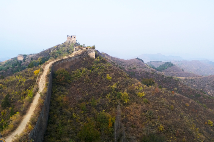 Private hike!  Gubeikou Great Wall, 2018/10/14 photo #10