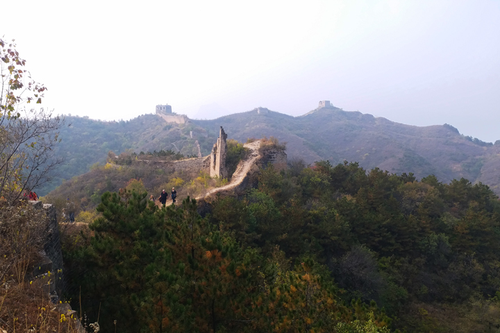 Private hike!  Gubeikou Great Wall, 2018/10/14 photo #11