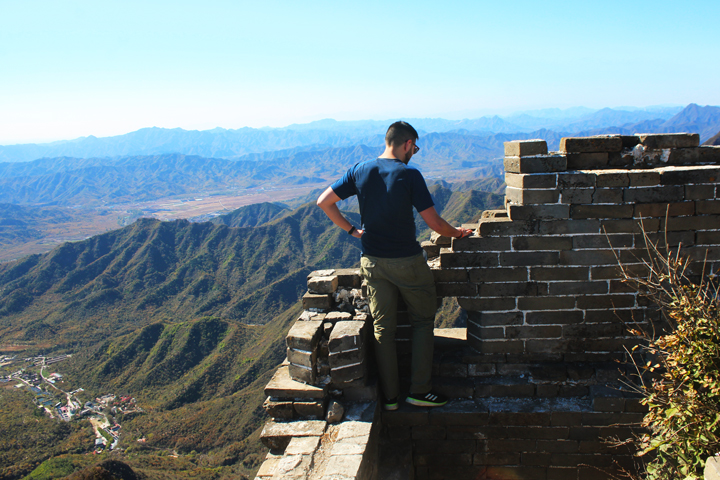Jiankou to Mutianyu Great Wall, 2018/10/17 photo #10