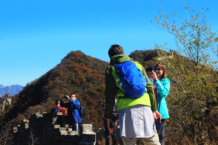 Jiankou to Mutianyu Great Wall, 2018/10/17 photo #13