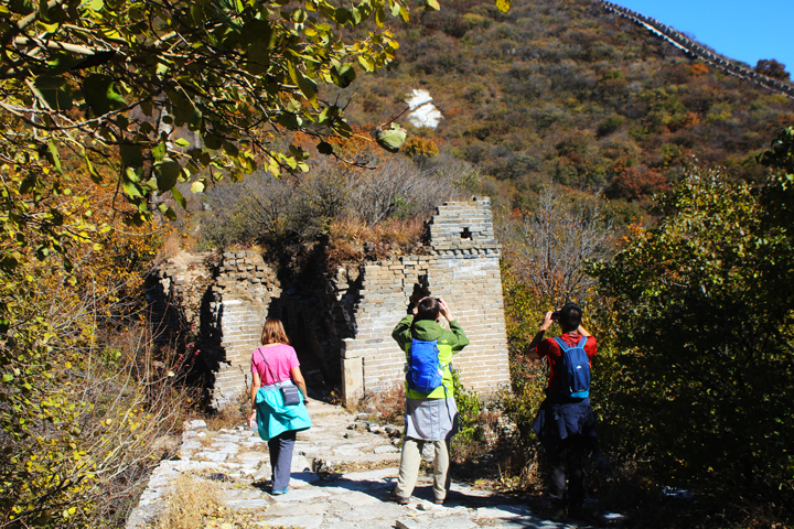 Jiankou to Mutianyu Great Wall, 2018/10/17 photo #17