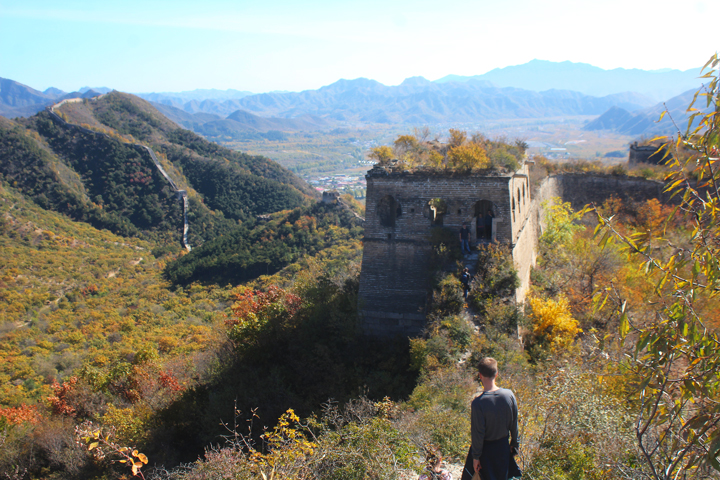 Walled Village to Huanghuacheng Great Wall, 2018/10/18 photo #8