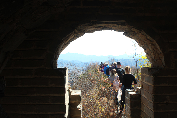 Walled Village to Huanghuacheng Great Wall, 2018/10/18 photo #9