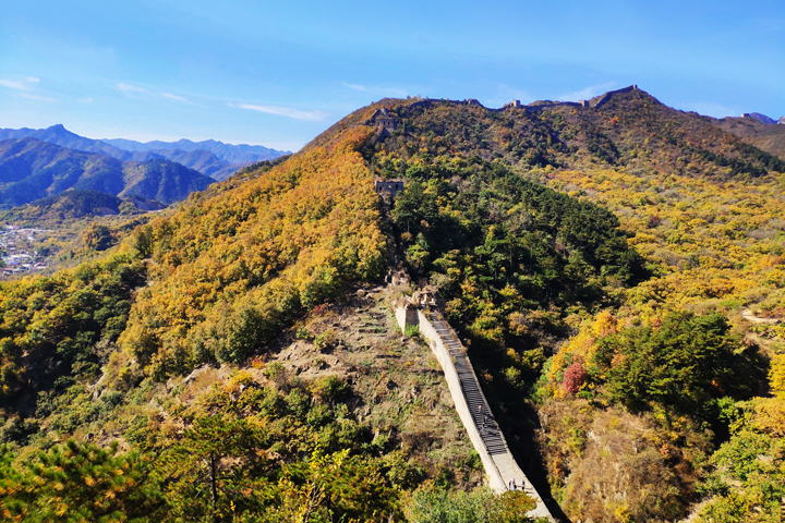 Walled Village to Huanghuacheng Great Wall, 2018/10/18 photo #16