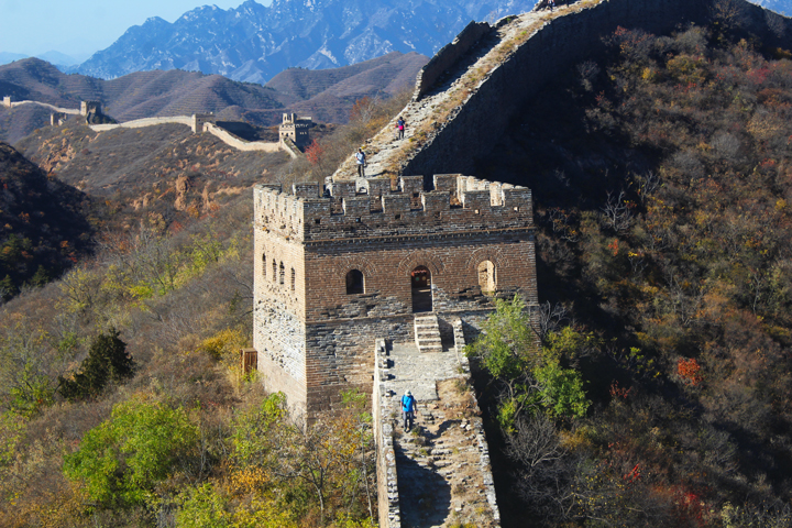 Gubeikou to Jinshanling Great Wall East, 2018/10/24 photo #42