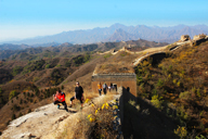 Gubeikou to Jinshanling Great Wall East, 2018/10/24
