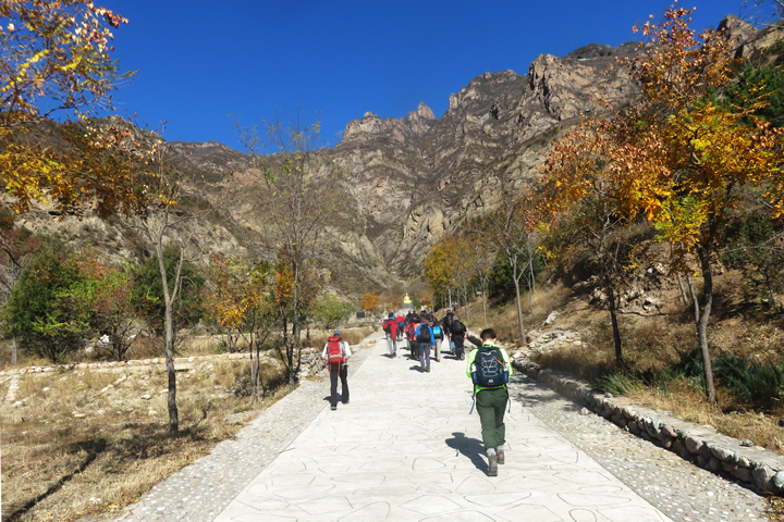 Yudu Mountain to Shuijia River, 2018/10/27 photo #1