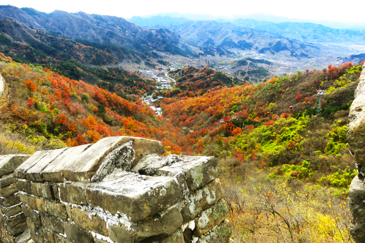 Jiankou to Mutianyu Great Wall, 2018/10/28 photo #15