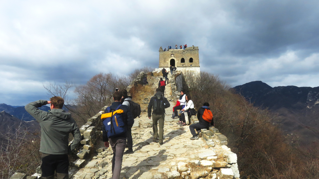 Jiankou to Mutianyu Great Wall, 2018/10/28