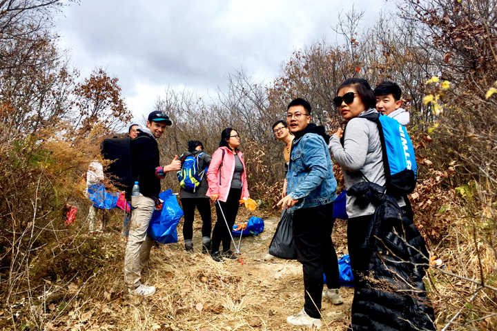Waste-Free Wall Clean up the Jiankou 'Big West' Great Wall, 2018/10/28 photo #2