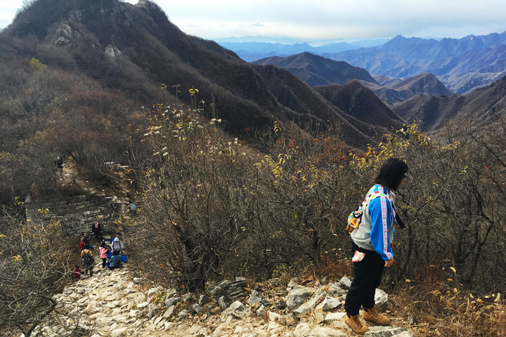 Waste-Free Wall Clean up the Jiankou 'Big West' Great Wall, 2018/10/28 photo #4