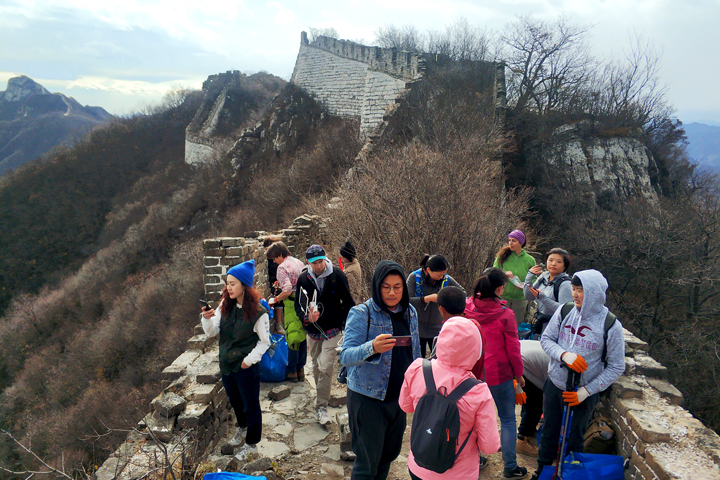 Waste-Free Wall Clean up the Jiankou 'Big West' Great Wall, 2018/10/28 photo #5