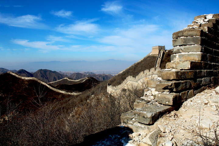 Stone valley Great Wall, 2018/10/31 photo #11