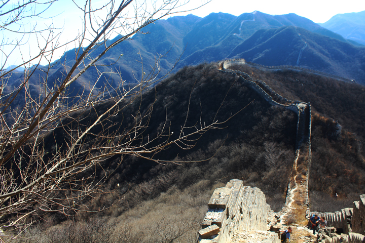 Stone valley Great Wall, 2018/10/31 photo #12