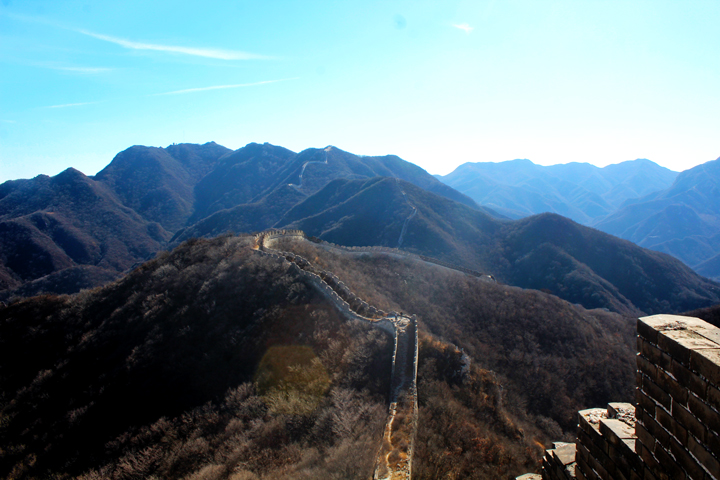 Stone valley Great Wall, 2018/10/31 photo #14