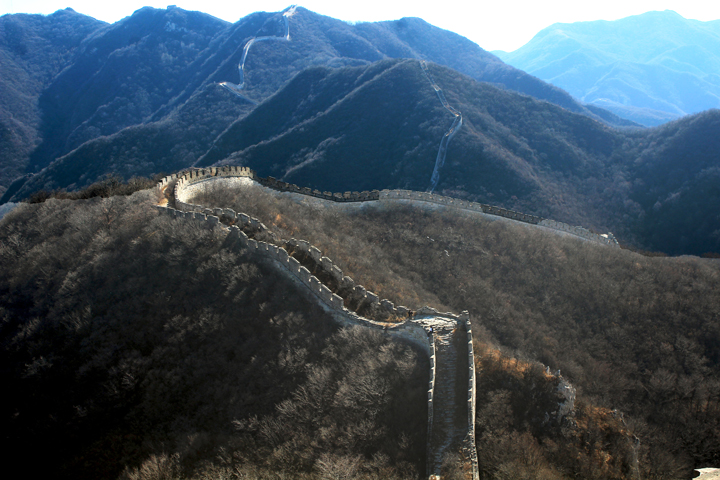 Stone valley Great Wall, 2018/10/31 photo #15
