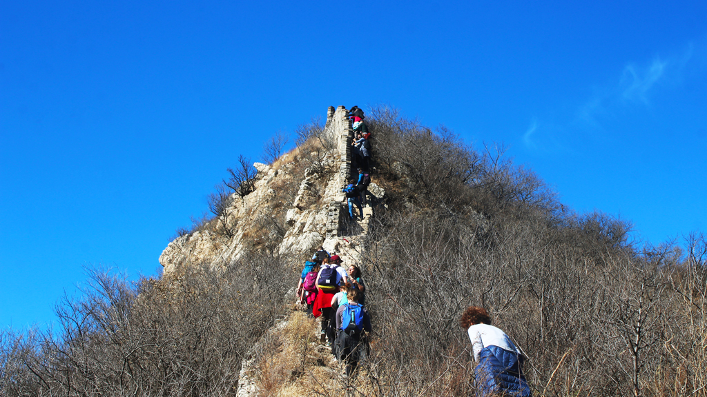 Stone valley Great Wall, 2018/10/31