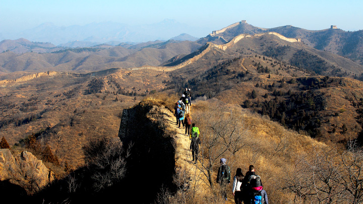 Gubeikou to Jinshanling Great Wall East, 2018/11/24