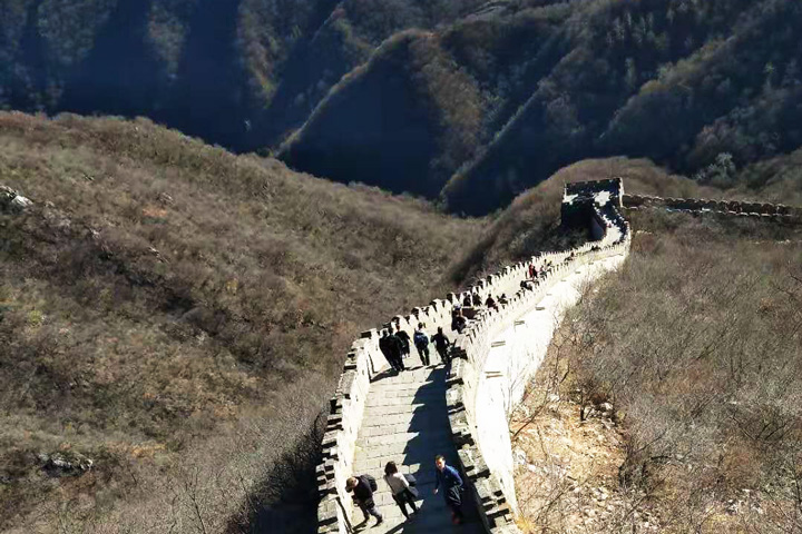 Jiankou to Mutianyu Great Wall, 2018/11/25 photo #4