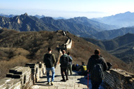 Jiankou to Mutianyu Great Wall, 2018/11/25