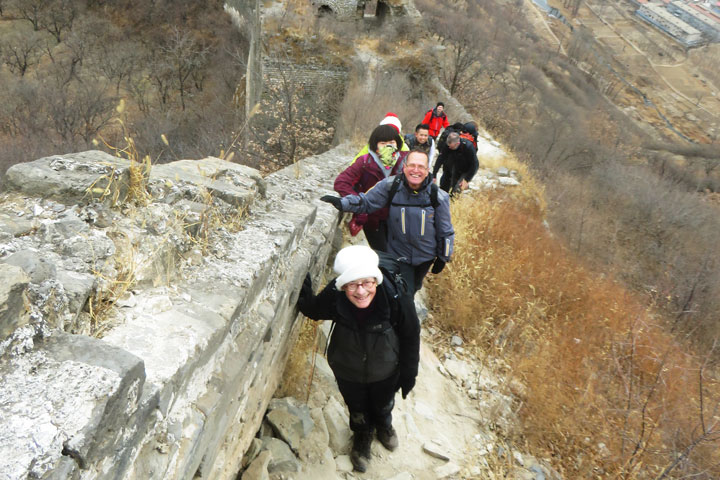Walled Village to Huanghuacheng Great Wall, 2018/12/22 photo #9