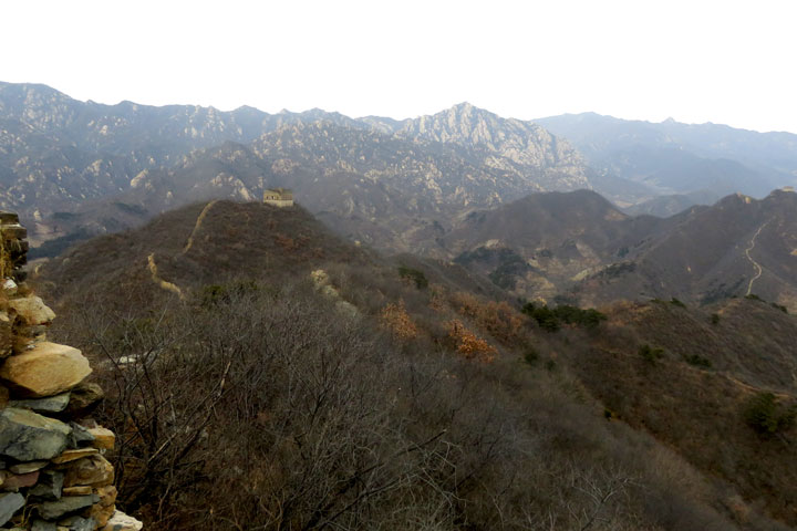 Walled Village to Huanghuacheng Great Wall, 2018/12/22 photo #13