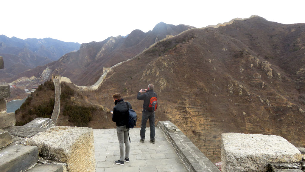 Walled Village to Huanghuacheng Great Wall, 2018/12/22