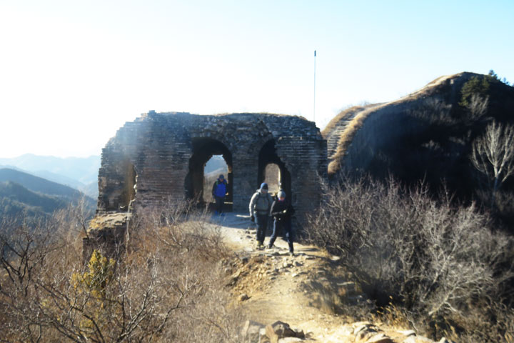 Gubeikou to Jingshanling Great Wall East, 2018/12/29 photo #2