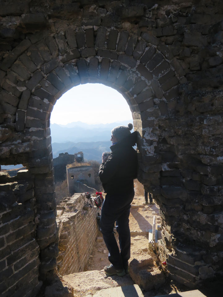 Gubeikou to Jingshanling Great Wall East, 2018/12/29 photo #9