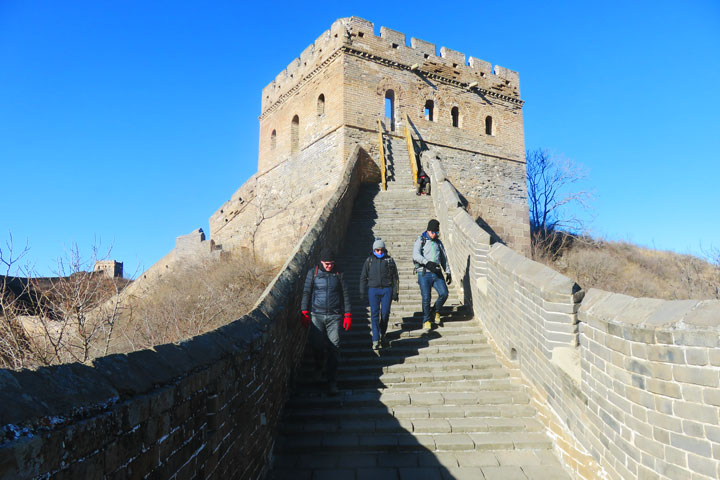 Gubeikou to Jingshanling Great Wall East, 2018/12/29 photo #16