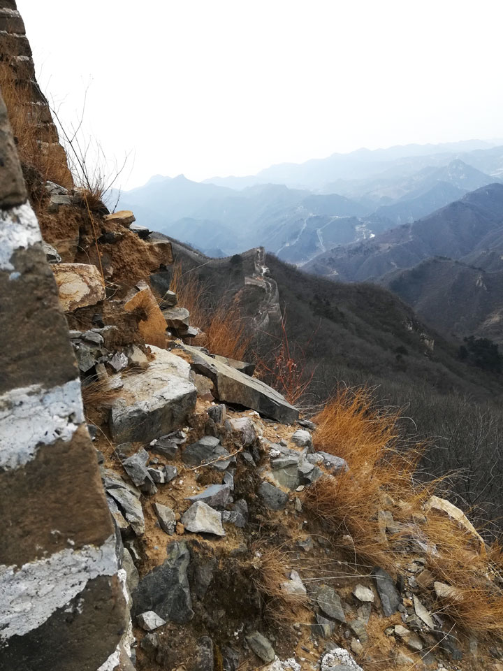 Sunset over the Huanghuacheng Great Wall, 2018/12/31 photo #5