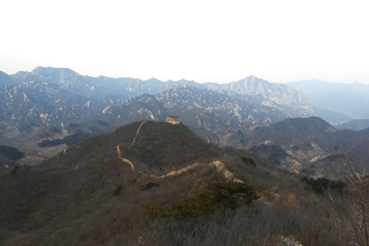 Sunset over the Huanghuacheng Great Wall, 2018/12/31 photo #6