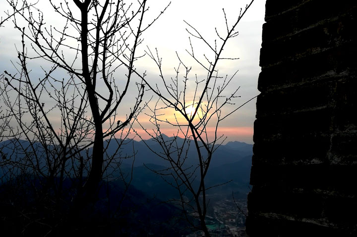 Sunset over the Huanghuacheng Great Wall, 2018/12/31 photo #11
