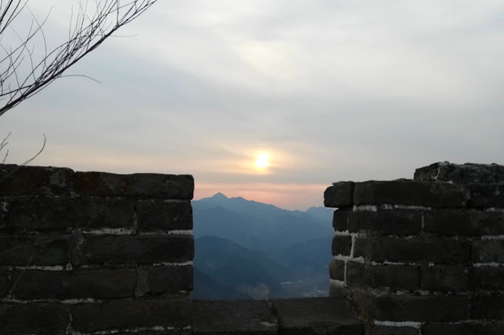 Sunset over the Huanghuacheng Great Wall, 2018/12/31 photo #12