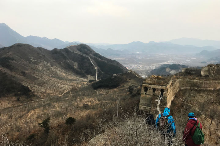 Sunset over the Huanghuacheng Great Wall, 2018/12/31 photo #15
