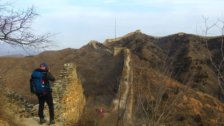 Gubeikou Great Wall loop, 2019/01/09