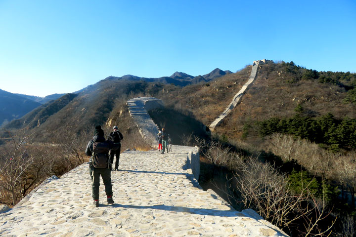 Longquanyu Great Wall to the Little West Lake, 2019/01/13 photo #4
