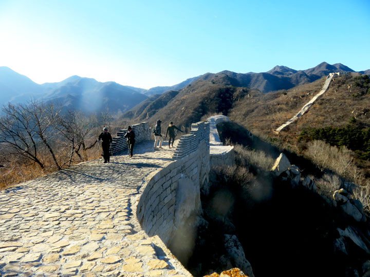 Longquanyu Great Wall to the Little West Lake, 2019/01/13 photo #5