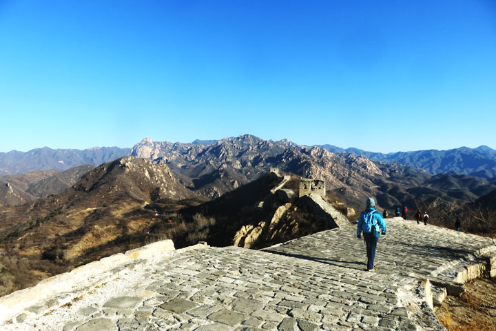 Longquanyu Great Wall to the Little West Lake, 2019/01/13 photo #6