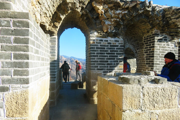 Longquanyu Great Wall to the Little West Lake, 2019/01/13 photo #7