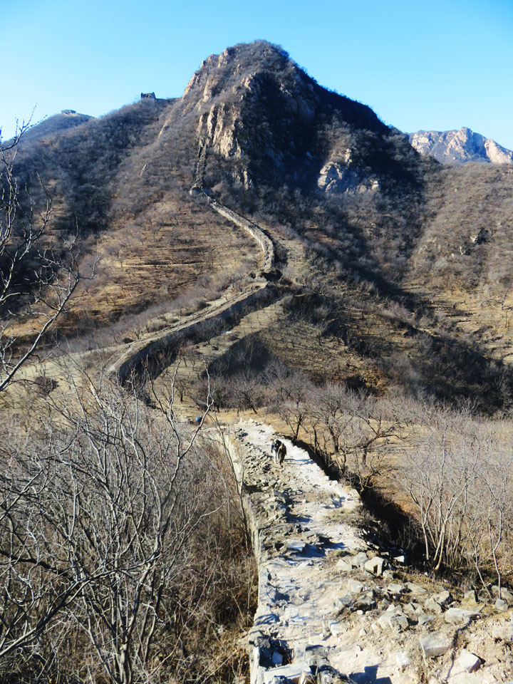 Longquanyu Great Wall to the Little West Lake, 2019/01/13 photo #14