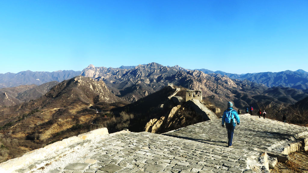Longquanyu Great Wall to the Little West Lake, 2019/01/13
