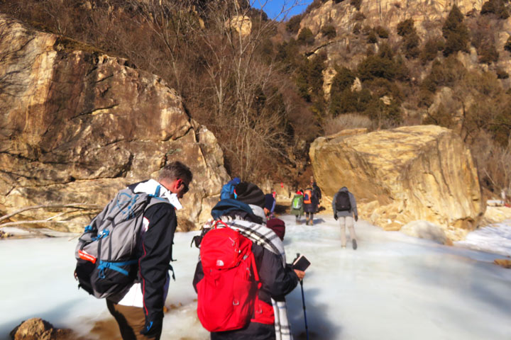 White River Ice Hike, 2019/01/27 photo #12