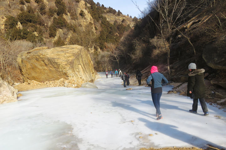White River Ice Hike, 2019/01/31 photo #7