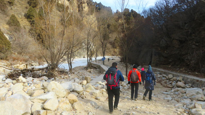 White River Ice Hike, 2019/01/31