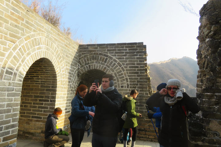 Walled Village to Huanghuacheng Great Wall, 2019/02/04 photo #1