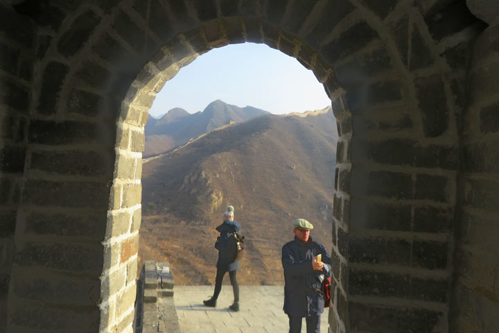 Walled Village to Huanghuacheng Great Wall, 2019/02/04 photo #2